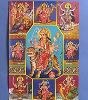 Different Forms of Goddess Durga