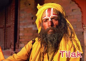 Tilak Forehead Mark